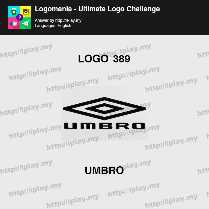 Logomania - Ultimate Logo Challenge Level 389