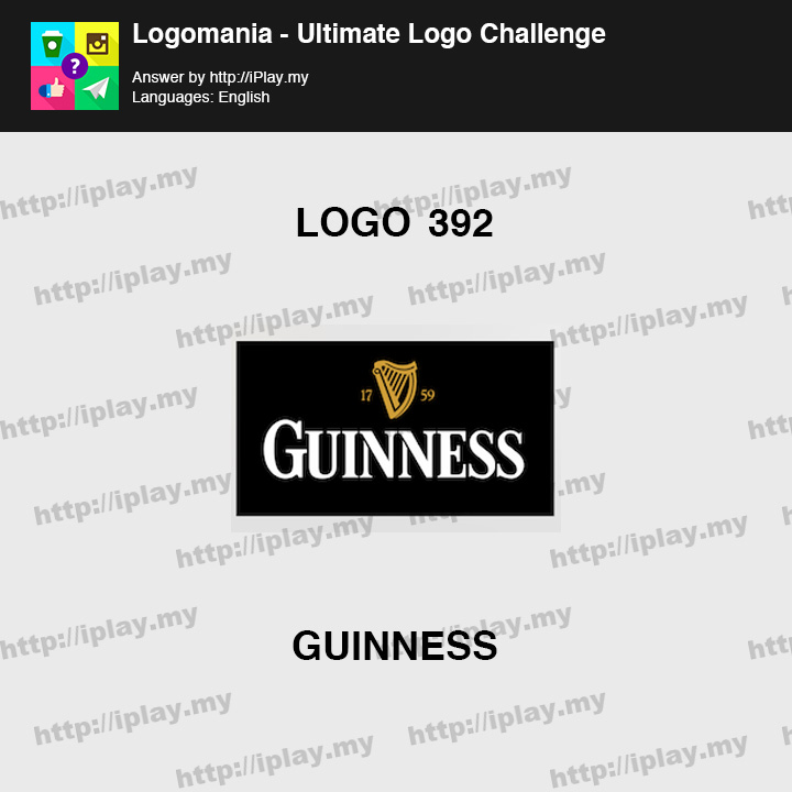 Logomania - Ultimate Logo Challenge Level 392