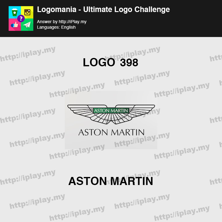 Logomania - Ultimate Logo Challenge Level 398