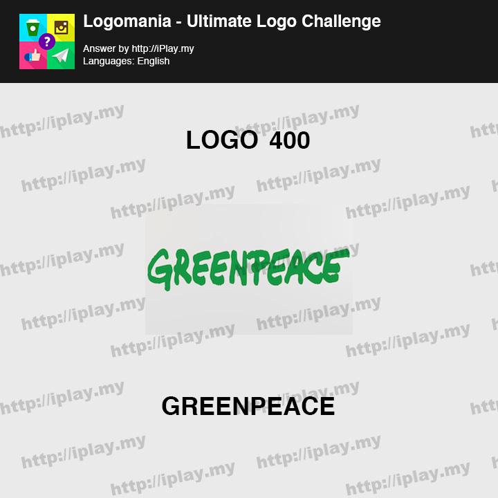 Logomania - Ultimate Logo Challenge Level 400