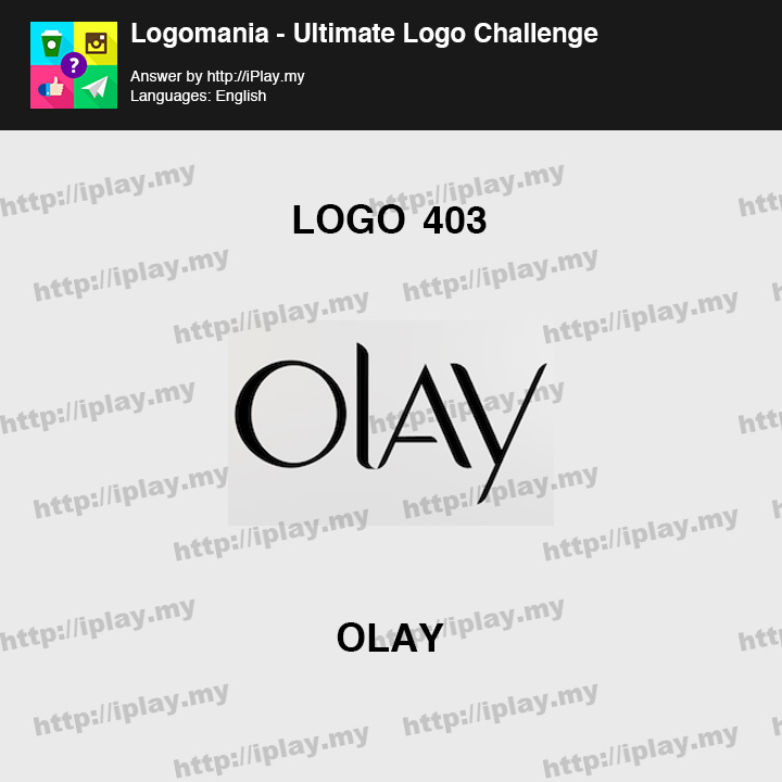 Logomania - Ultimate Logo Challenge Level 403