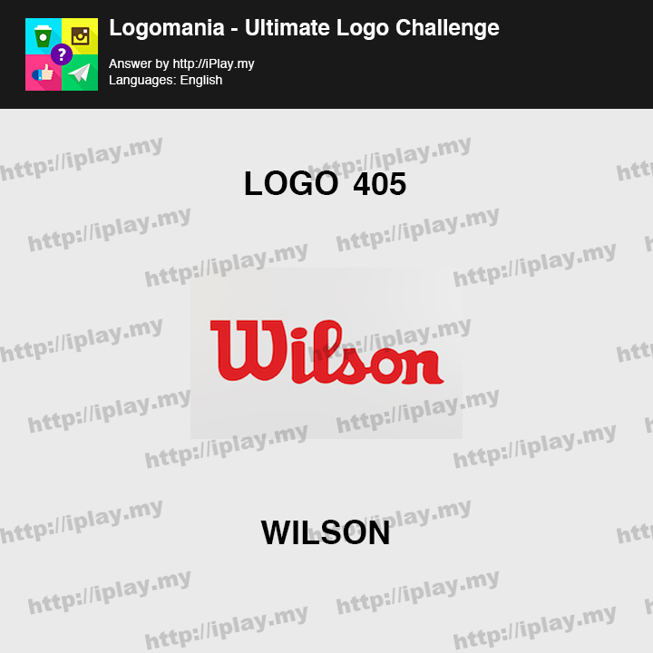 Logomania - Ultimate Logo Challenge Level 405