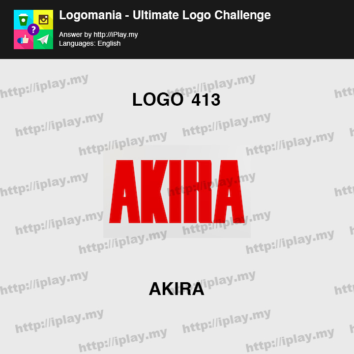 Logomania - Ultimate Logo Challenge Level 413