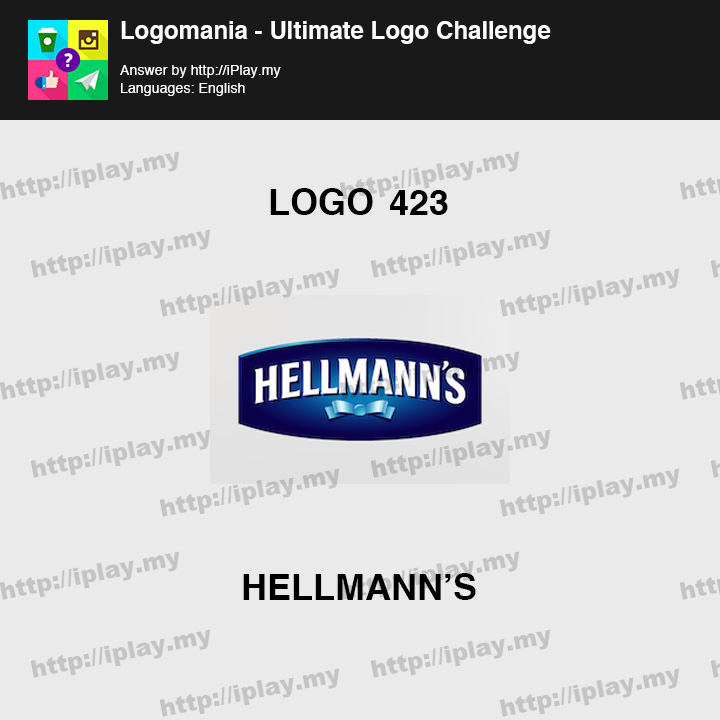 Logomania - Ultimate Logo Challenge Level 423