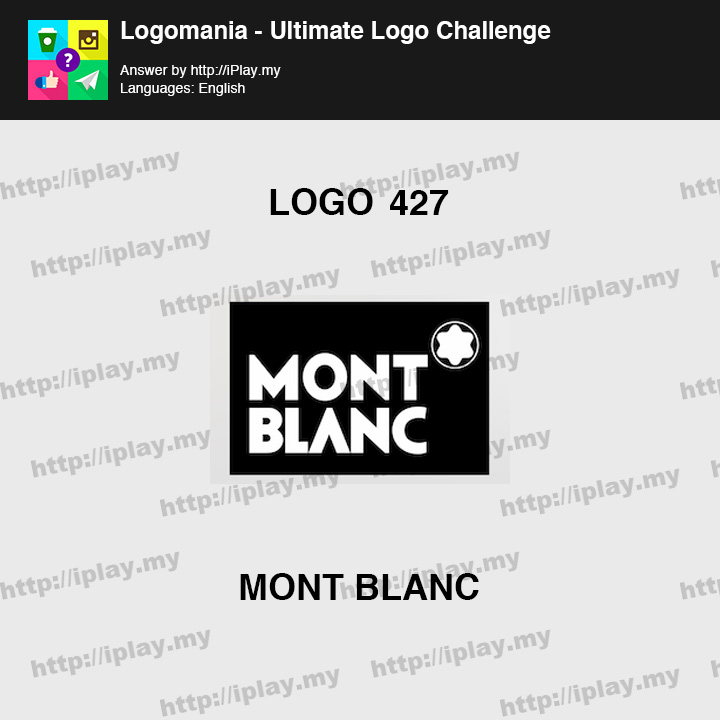 Logomania - Ultimate Logo Challenge Level 427