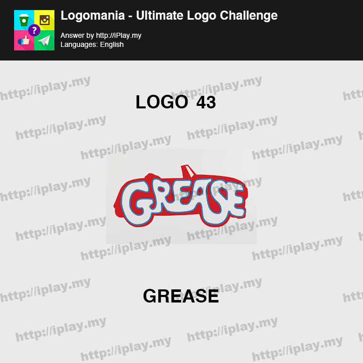Logomania - Ultimate Logo Challenge Level 43