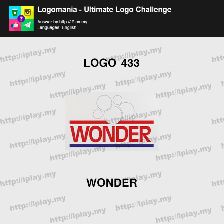 Logomania - Ultimate Logo Challenge Level 433
