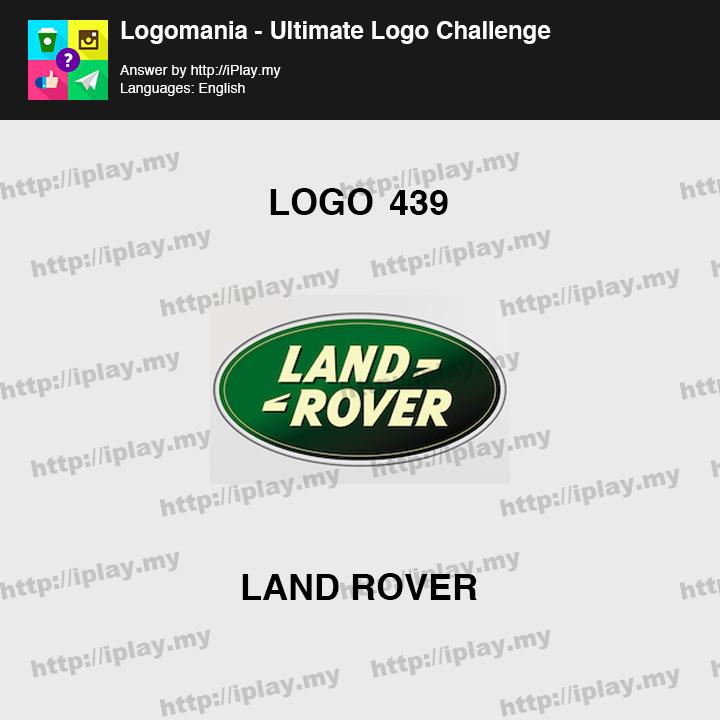 Logomania - Ultimate Logo Challenge Level 439