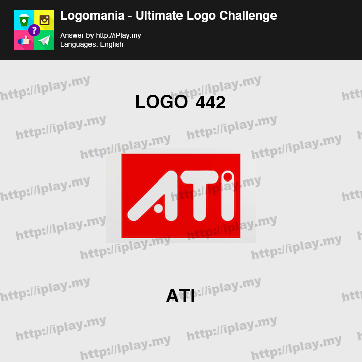 Logomania - Ultimate Logo Challenge Level 442