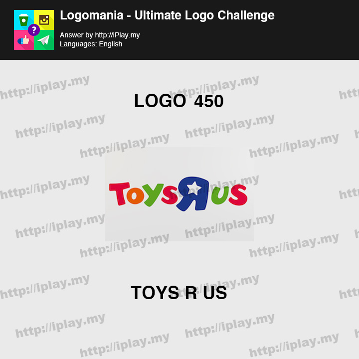 Logomania - Ultimate Logo Challenge Level 450