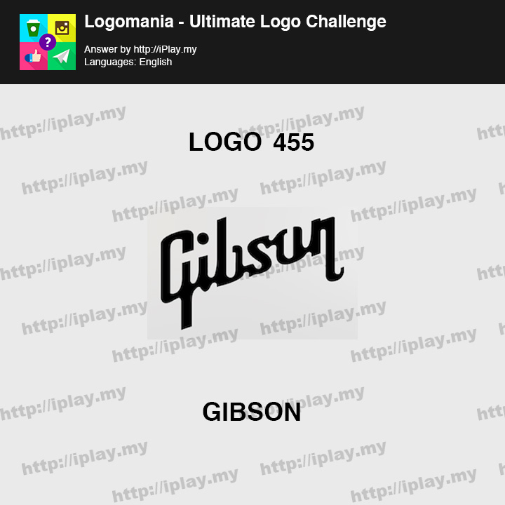 Logomania - Ultimate Logo Challenge Level 455