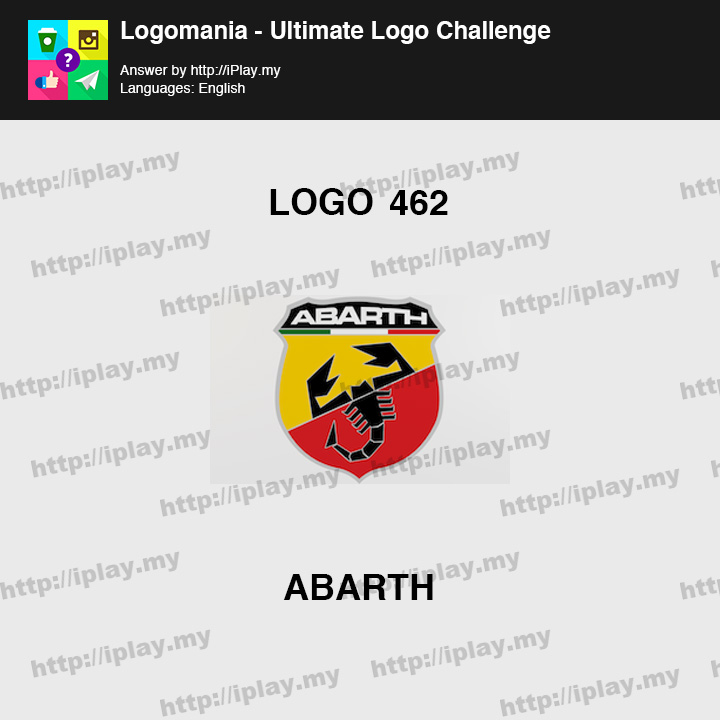 Logomania - Ultimate Logo Challenge Level 462