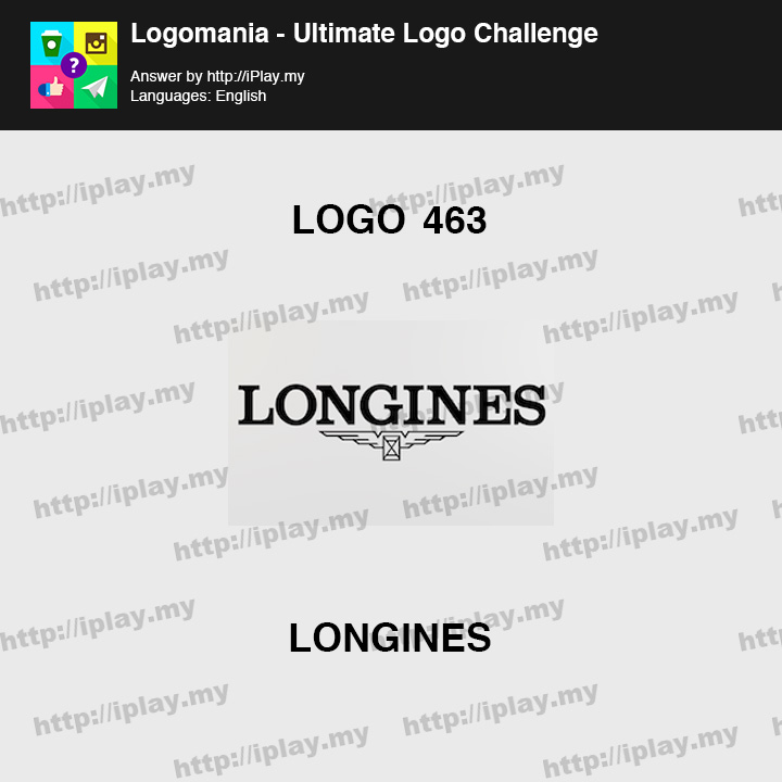 Logomania - Ultimate Logo Challenge Level 463