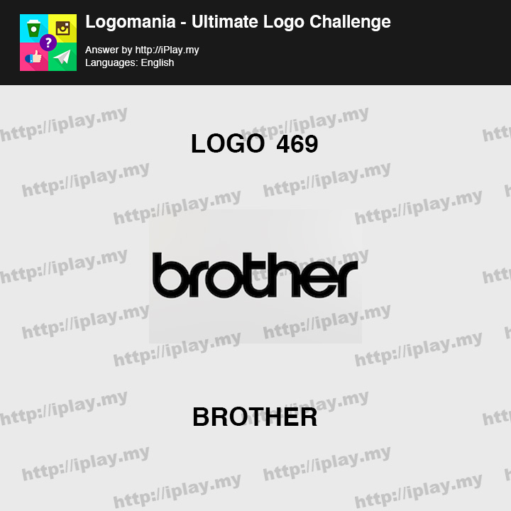 Logomania - Ultimate Logo Challenge Level 469