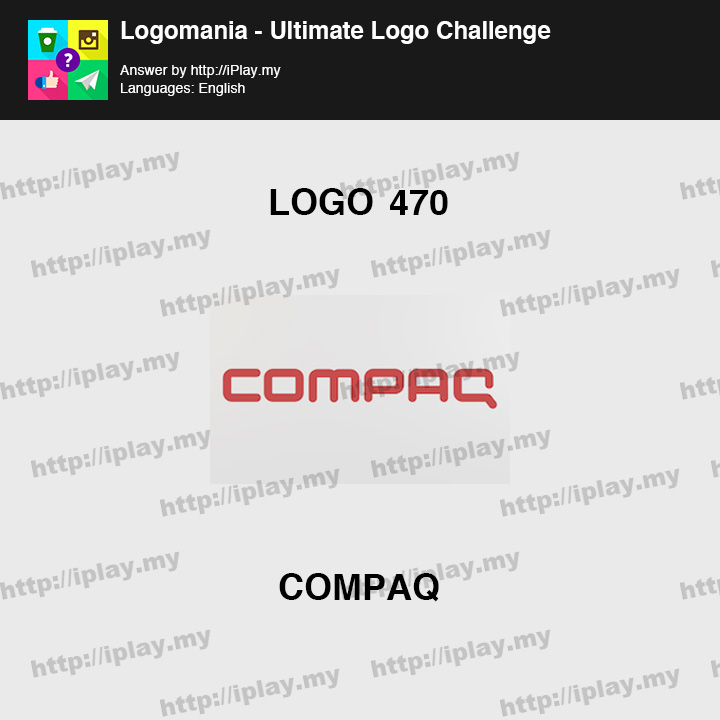 Logomania - Ultimate Logo Challenge Level 470