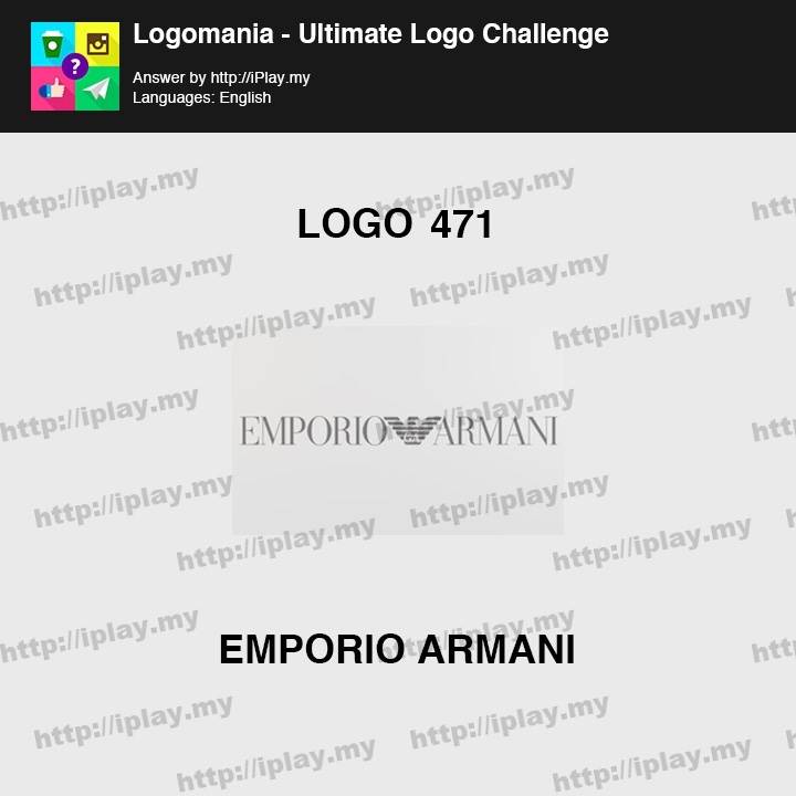 Logomania - Ultimate Logo Challenge Level 471