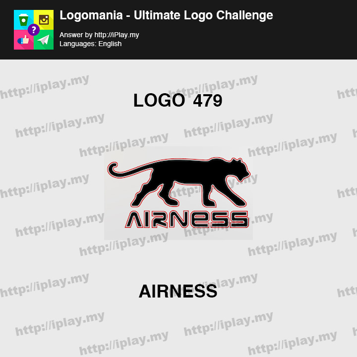 Logomania - Ultimate Logo Challenge Level 479