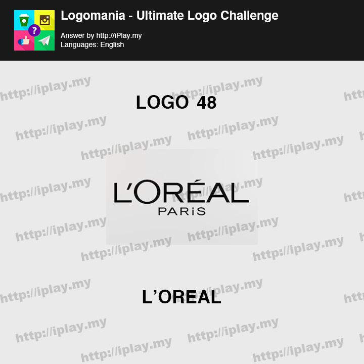 Logomania - Ultimate Logo Challenge Level 48
