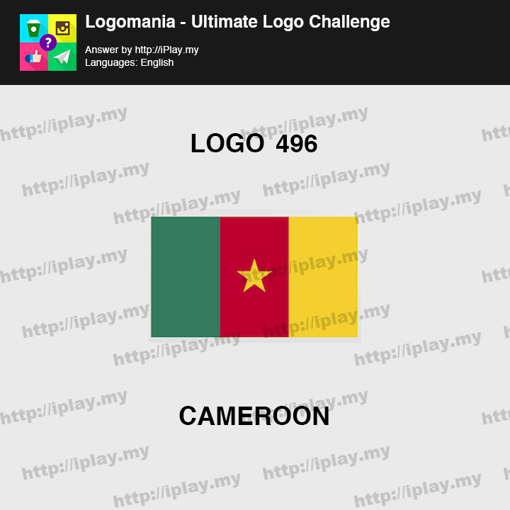 Logomania - Ultimate Logo Challenge Level 496