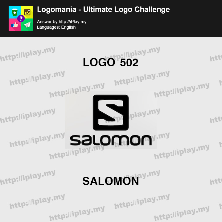 Logomania - Ultimate Logo Challenge Level 502
