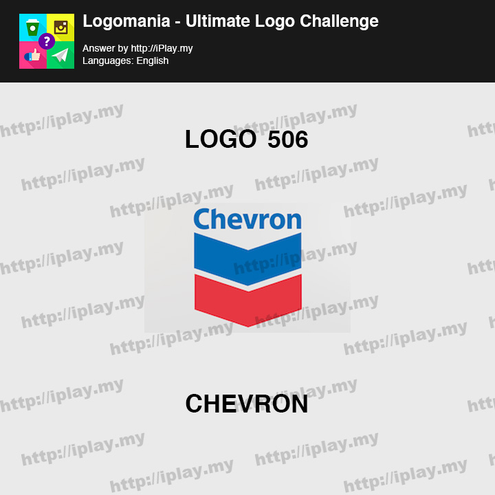 Logomania - Ultimate Logo Challenge Level 506