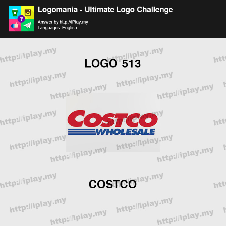 Logomania - Ultimate Logo Challenge Level 513