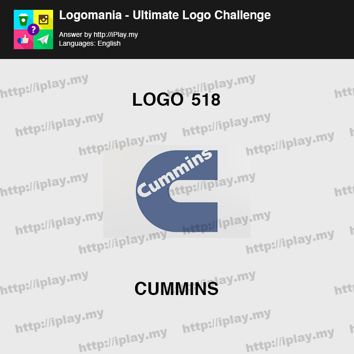 Logomania - Ultimate Logo Challenge Level 518