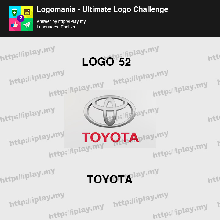 Logomania - Ultimate Logo Challenge Level 52