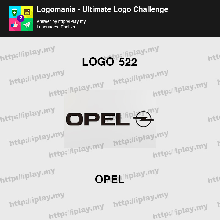 Logomania - Ultimate Logo Challenge Level 522