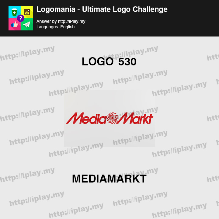 Logomania - Ultimate Logo Challenge Level 530