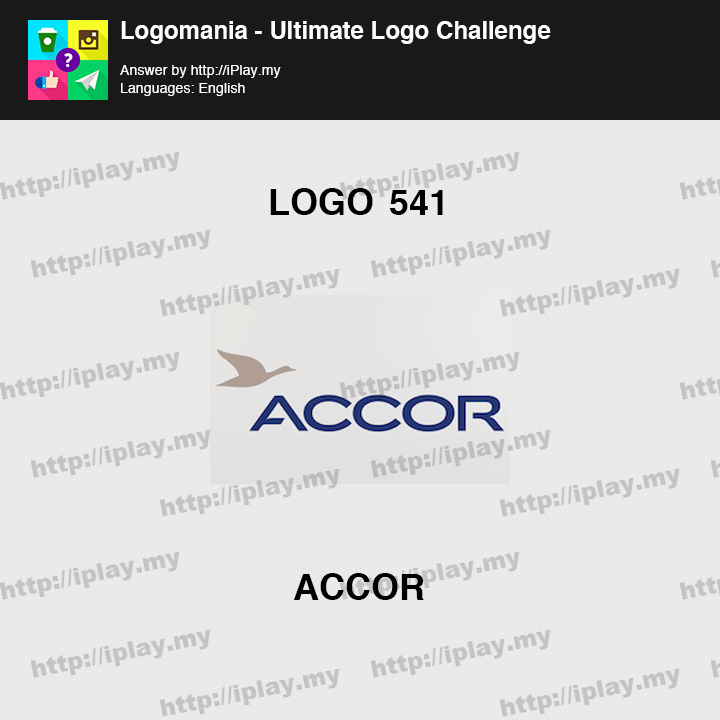 Logomania - Ultimate Logo Challenge Level 541