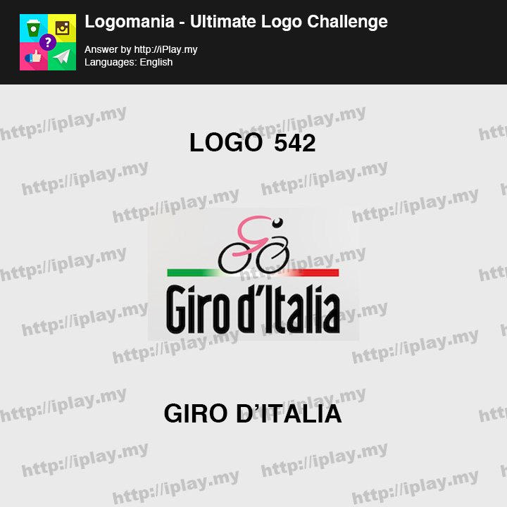 Logomania - Ultimate Logo Challenge Level 542