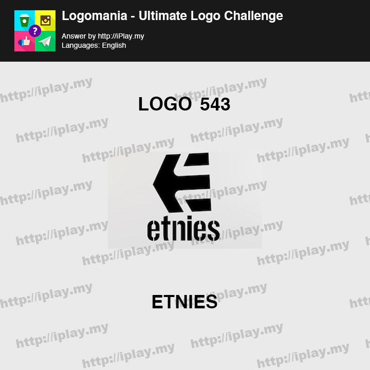 Logomania - Ultimate Logo Challenge Level 543