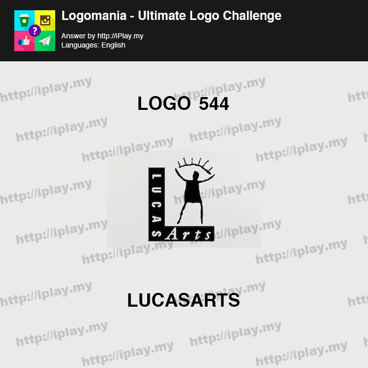 Logomania - Ultimate Logo Challenge Level 544