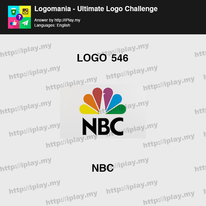Logomania - Ultimate Logo Challenge Level 546