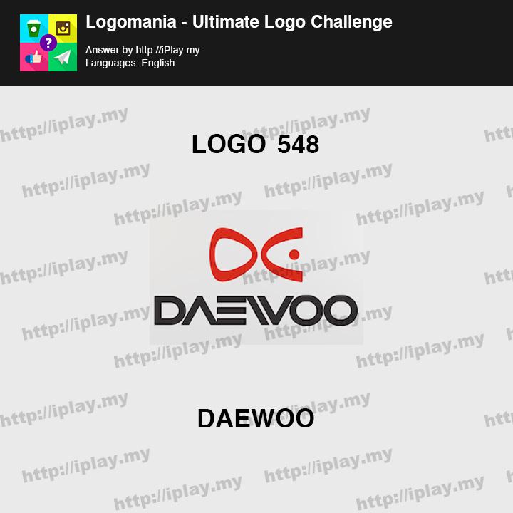 Logomania - Ultimate Logo Challenge Level 548