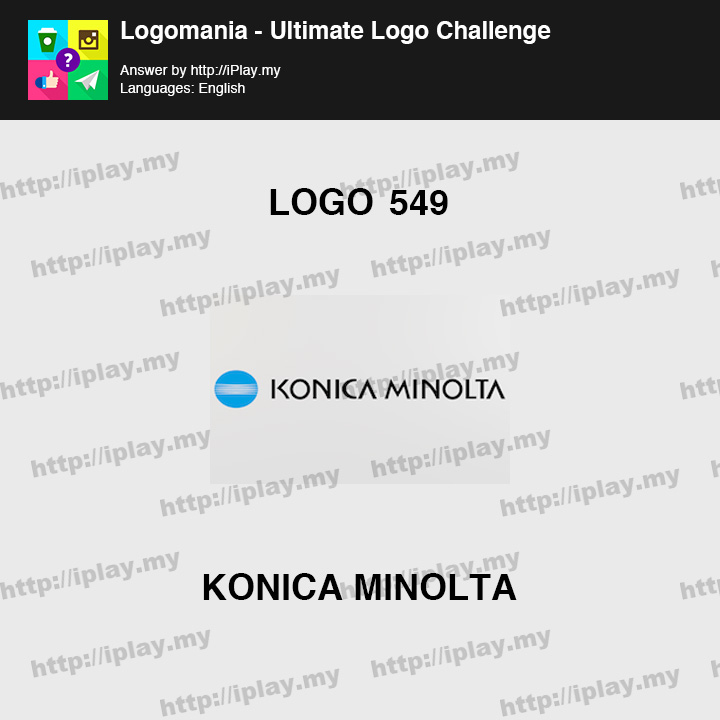 Logomania - Ultimate Logo Challenge Level 549