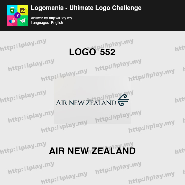 Logomania - Ultimate Logo Challenge Level 552