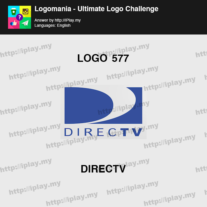 Logomania - Ultimate Logo Challenge Level 577