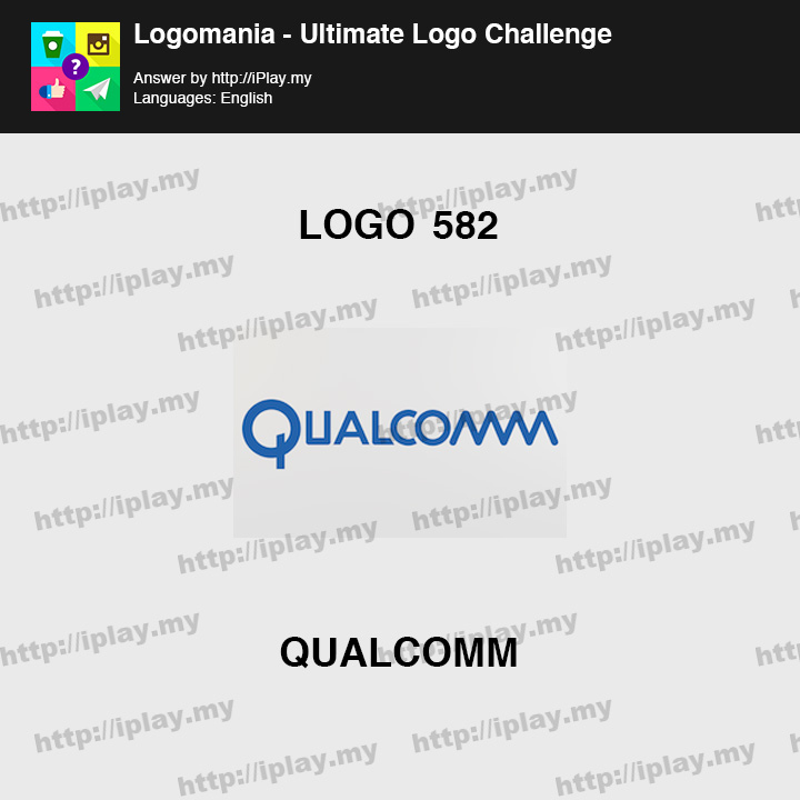 Logomania - Ultimate Logo Challenge Level 582