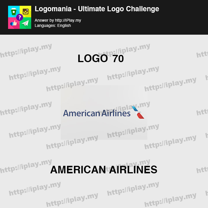 Logomania - Ultimate Logo Challenge Level 70