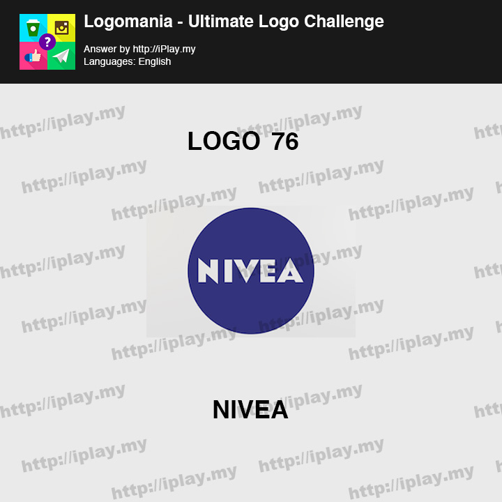 Logomania - Ultimate Logo Challenge Level 76