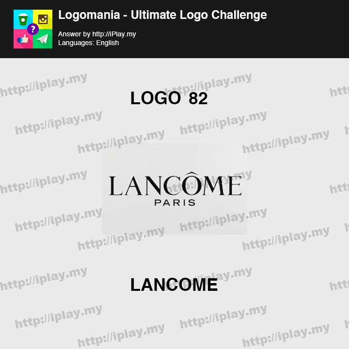 Logomania - Ultimate Logo Challenge Level 82