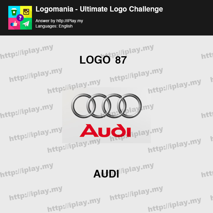 Logomania - Ultimate Logo Challenge Level 87