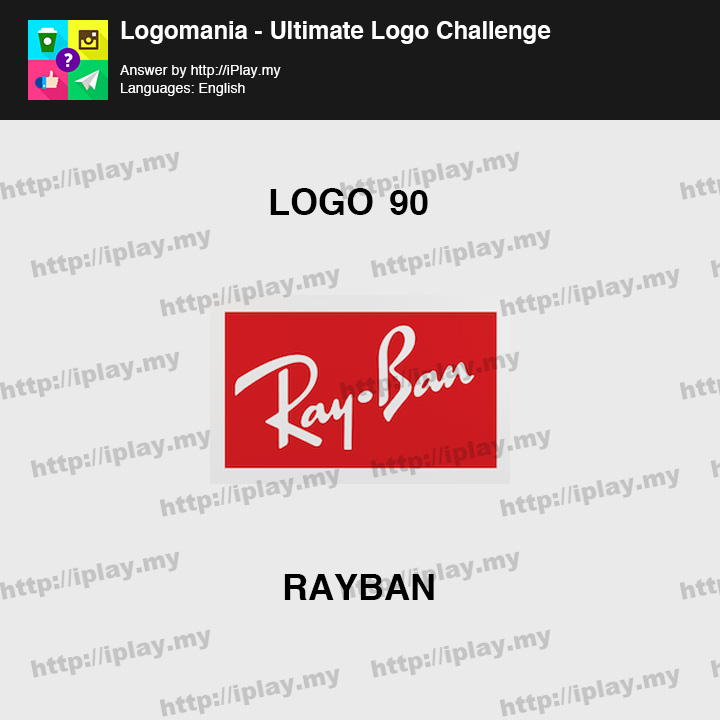 Logomania - Ultimate Logo Challenge Level 90