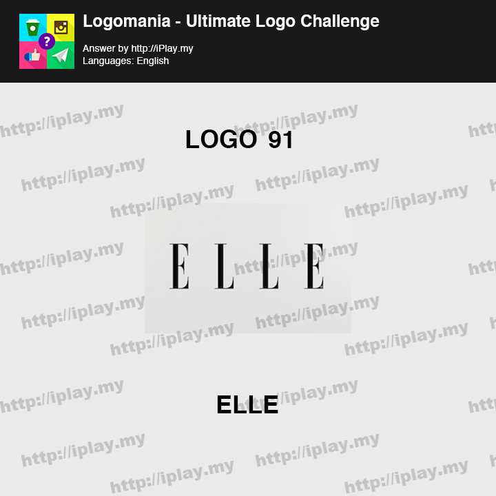 Logomania - Ultimate Logo Challenge Level 91