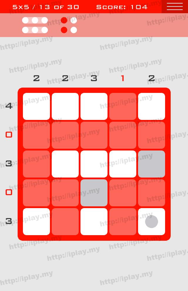 Logic Dots 5x5 - 13