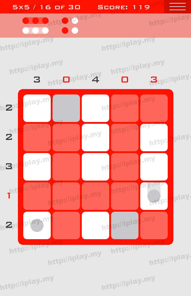 Logic Dots 5x5 - 16