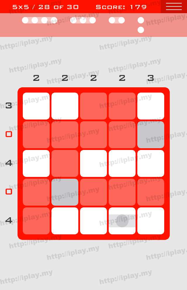 Logic Dots 5x5 - 28