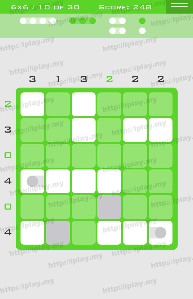 Logic Dots 6x6 - 10